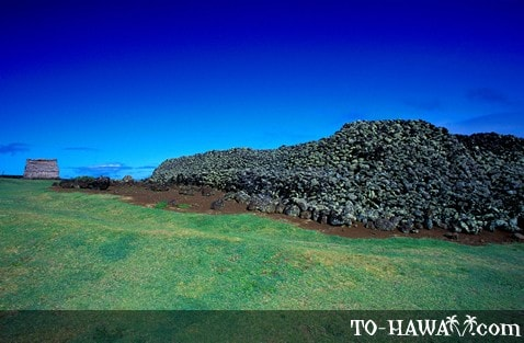 Mookini Heiau on the Big Island