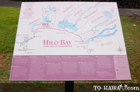 Hilo Bay in the days of Kamehameha