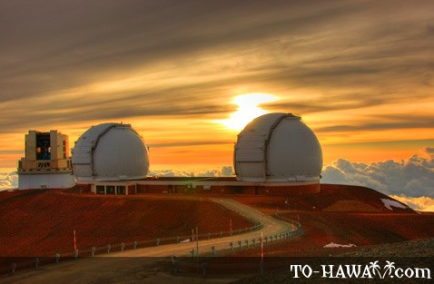 Mauna Kea Observatories at the summit