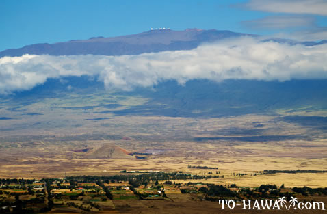 View to Mauna Kea summit