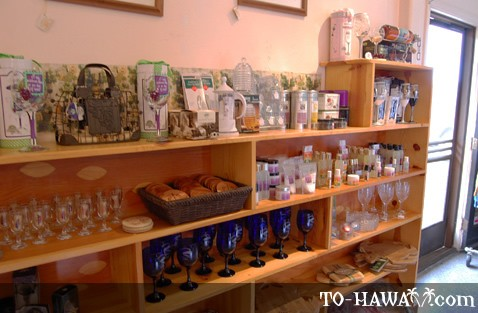 Souvenirs in the store