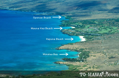 Kohala Coast beaches