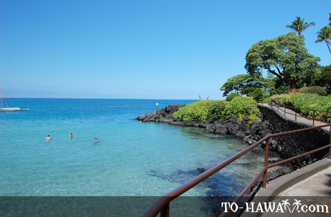 Scenic path by Mauna Kea Beach Hotel
