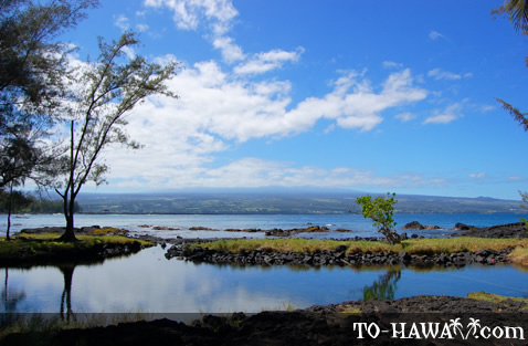 Looking towards Mauna Kea