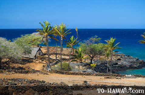 Ancient Hawaiian fishing village