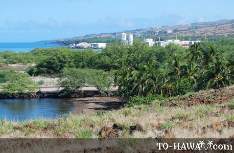 Overlooking Kawaihae Harbor