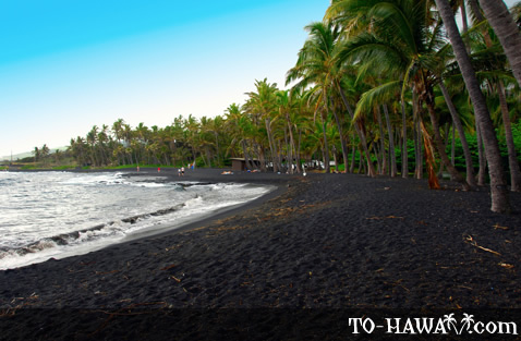 Punalu U Black Sand Beach