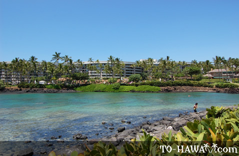 View from Hilton Waikoloa Village