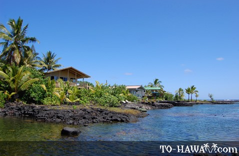 Kapoho oceanfront vacation rentals