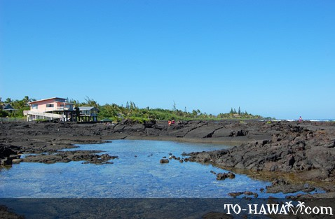 Kapoho vacation homes near tide pools