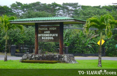 Pahoa High and Intermediate School