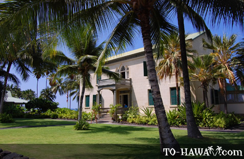 One of three royal palaces in Hawaii