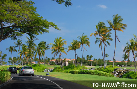Kohala Coast resort area