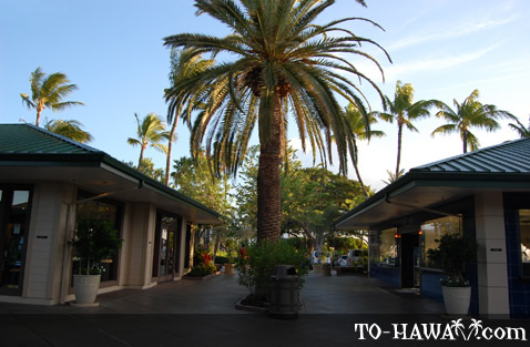 Waikoloa Beach Resort mall