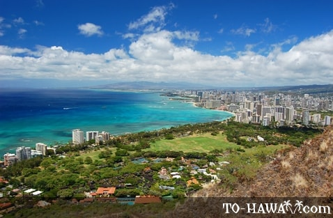 Diamond Head Lookout, Oahu