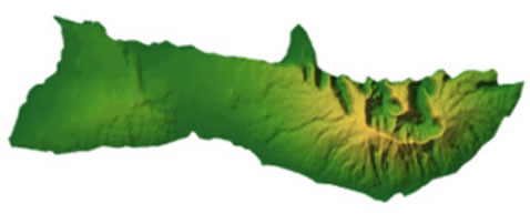 Molokai elevation