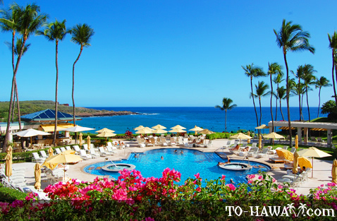 Manele Resort pool