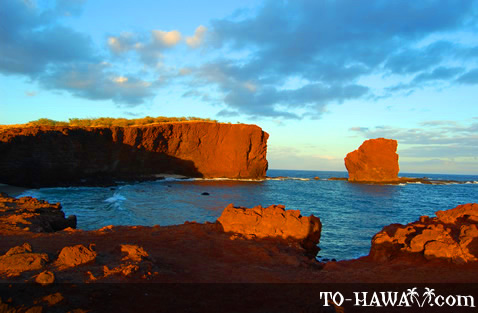 Pu'u Pehe Sweetheart Rock