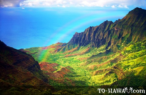Kauai North Shore rainbow