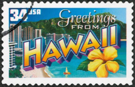 Hawaii postage