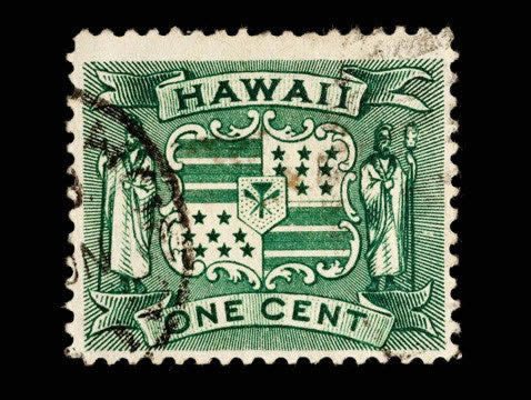 Hawaiian Postage Stamps