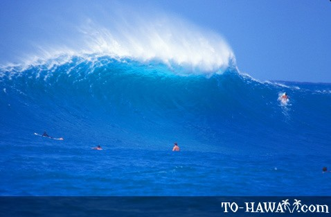 Big wave is approaching
