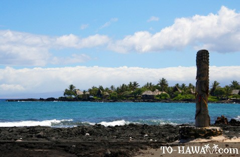Ancient Hawaiian fishing village in Kona