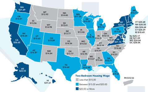 Us Housing Cost Map