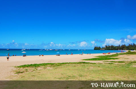 Eastern part of Hanalei Bay