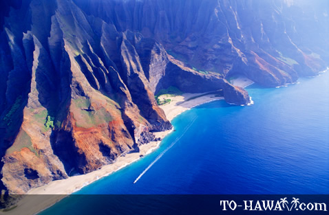 Kalalau Beach and Honopu Beach