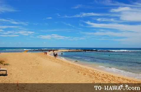 Beautiful Kauai beach