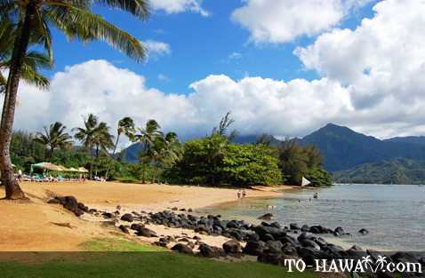Looking toward Hanalei Bay