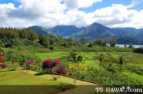 View from Hanalei Bay Resort