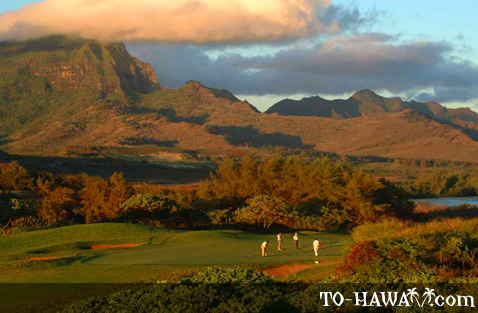 South shore Kauai golf