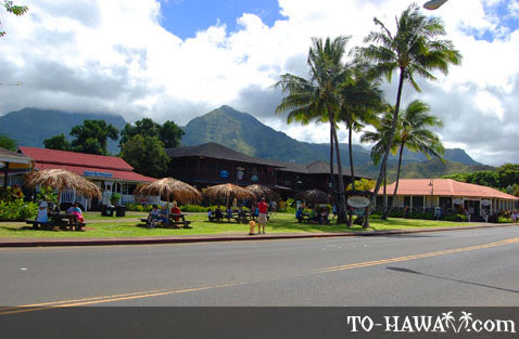 Located in Downtown Hanalei