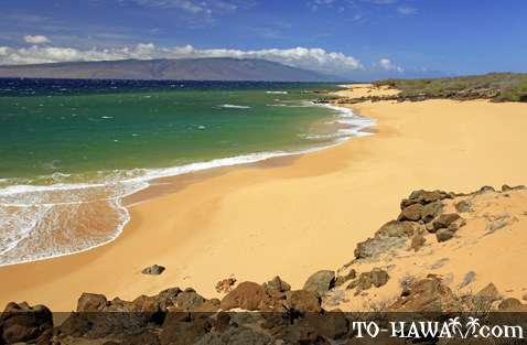 Polihua Beach on Lanai