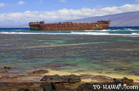 Shipwreck Beach on Lanai