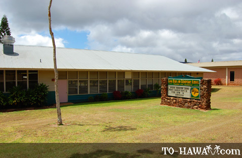 School in Lanai City
