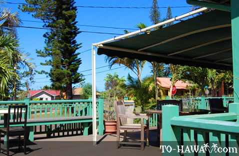 Lanai coffee shop