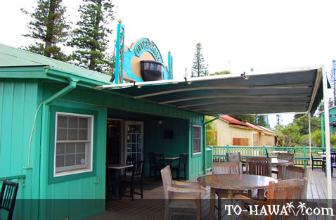 Quiet coffee place in Lanai City