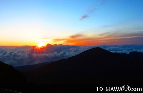 Another beautiful Haleakala sunrise