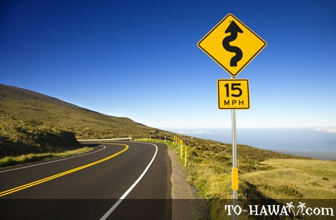 Road to Haleakala