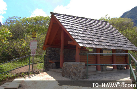 Iao Valley lookout point