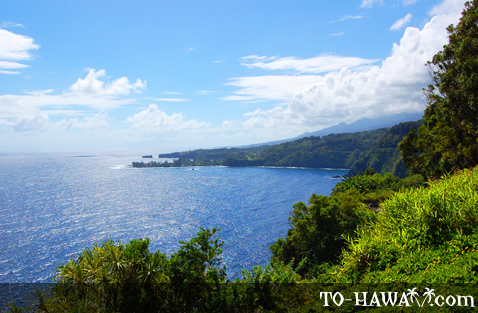 View to the Road to Hana