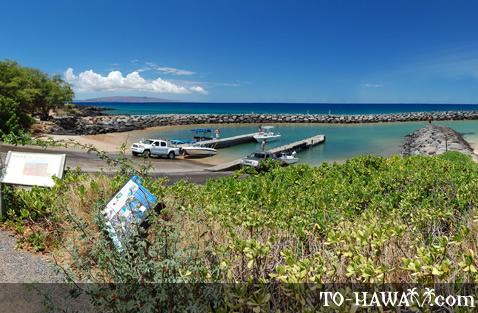 South Maui boat ramp