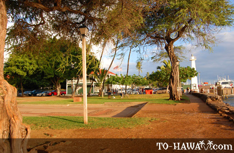 Lahaina Harbor lighthouse