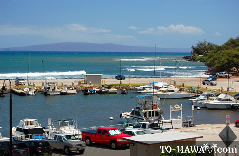 View to Kahoolawe island