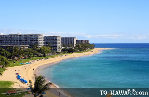Ka'anapali Beach and hotels