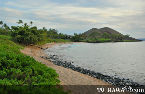 Beach in Makena