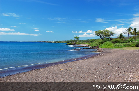 One of the Makena State Park beaches